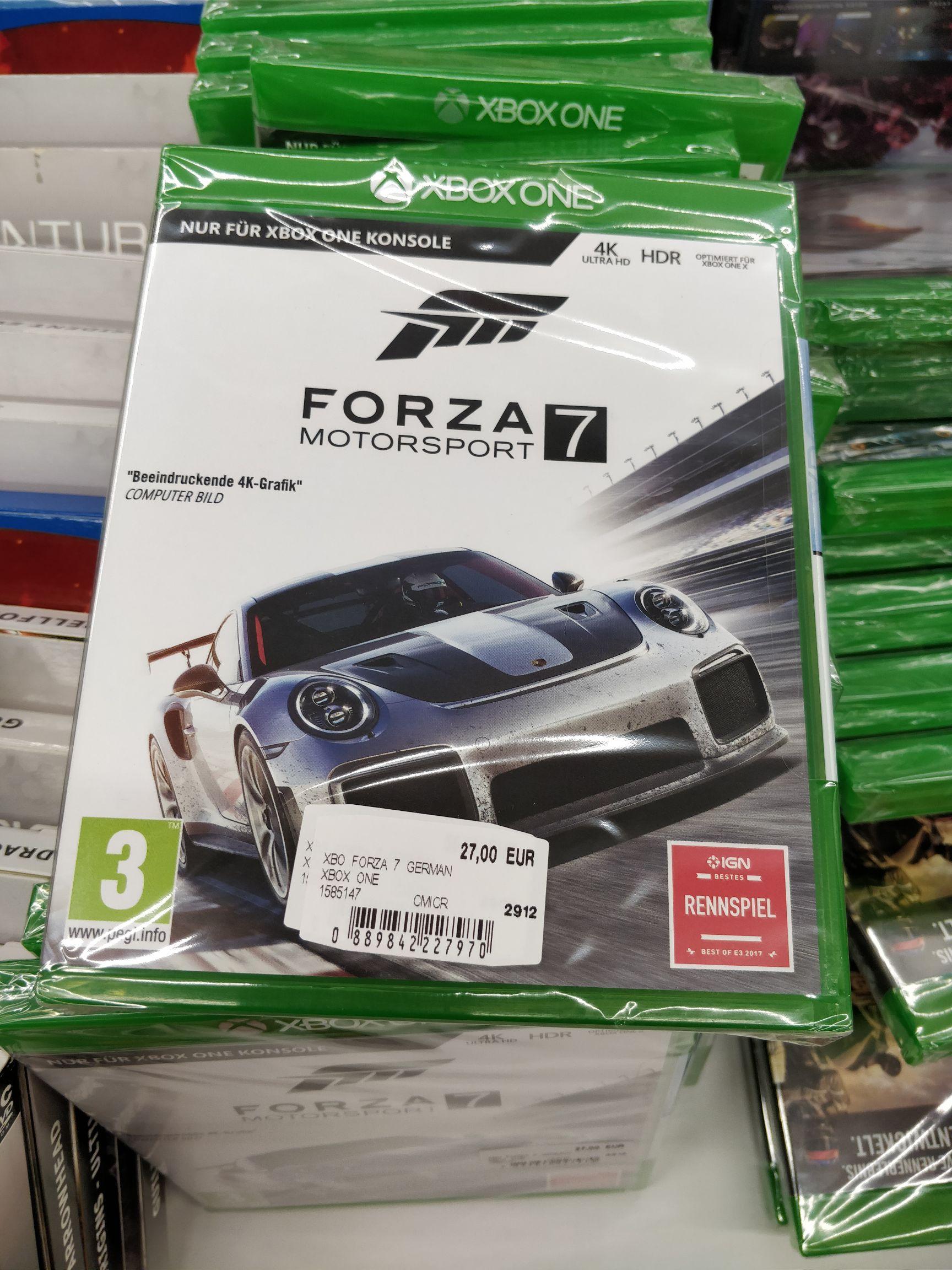 [MM Hietzing] Forza 7, 6 und Horizon 2 XBOX One