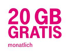 [T-Mobile] Family Bytes - 20GB gratis bei Homenet-Kombitarifen