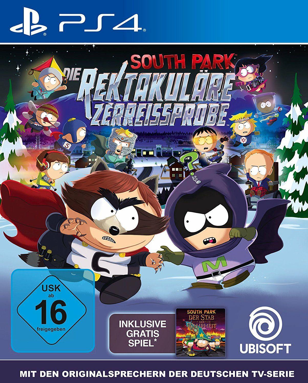 South Park: Die rektakuläre Zerreißprobe(PS4) um 30,24 Euro / Gold Edition (+ Season Pass) für 32,29€