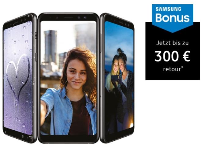MediaMarkt: Samsung Galaxy A8 - bis zu 300,- Euro Eintauschprämie sichern!
