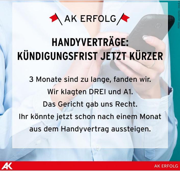[INFO] Handyverträge - Kündigungsfrist jetzt kürzer