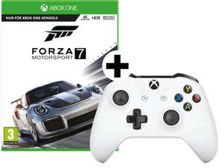 [Mediamarkt] MICROSOFT Forza Motorsport 7 + Xbox Wireless Controller (TF5-00003) für 59,-€