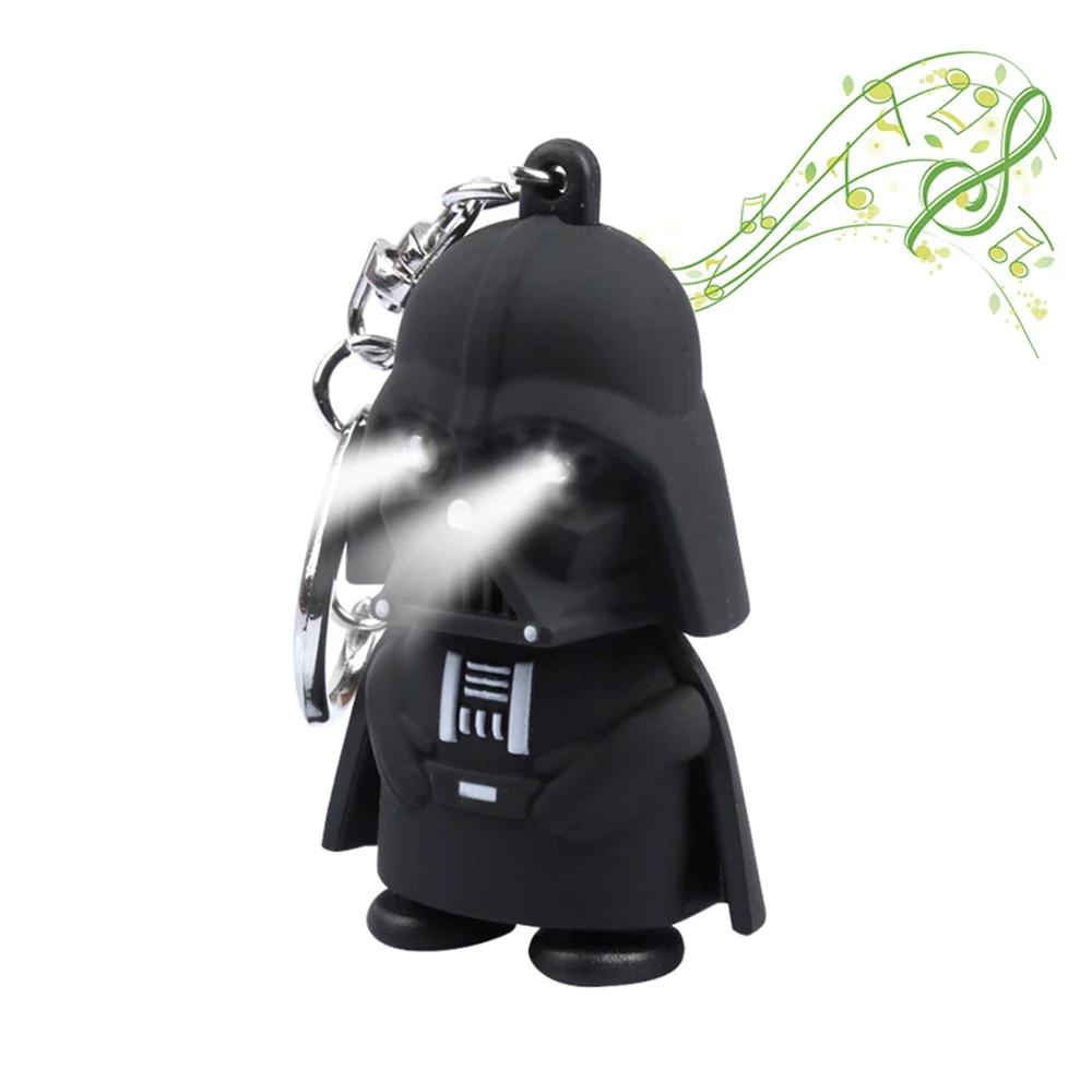 Darth Vader Schlüsselanhänger mit LED Licht und Sound für 0,80€