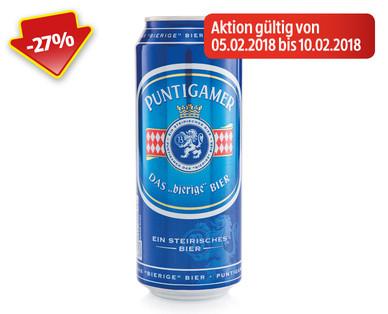 HOFER Puntigamer Bier 5.2. bis 10.2.