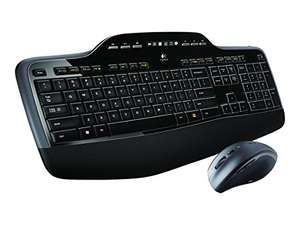 "Amazon WHD (sehr gut) - Logitech Wireless Tastatur + Maus ""MK710"" (QWERTY)"