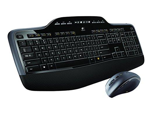 "Amazon WHD (sehr gut) - Logitech Wireless Tastatur + Maus ""MK710"" (QWERTY)"