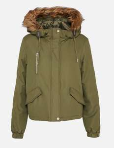 Noisy may Noisy may LEIA Jacke in der Trendfarbe Khaki