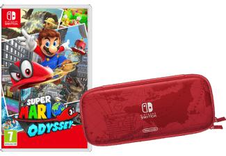 Super Mario Odyssey +Tasche + Schutzfolie [Nintendo Switch]