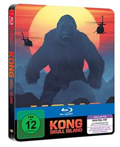 Kong: Skull Island [Steelbook] [3D Blu-ray] [Limited Edition] für 11,97€