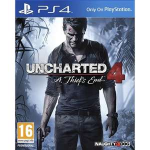 [Libro] Uncharted 4: A Thief's End (Englische Original Version) PS4 (Offline)