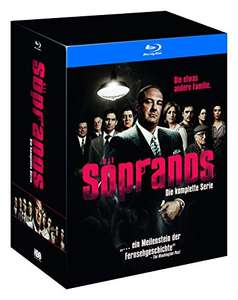 Amazon DE Sopranos - Die komplette Serie (exklusiv bei Amazon.de) [Blu-ray] [Limited Edition]