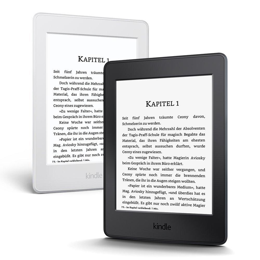 Kindle Paperwhite eReader - 6 Zoll Display (WiFi) für 79€