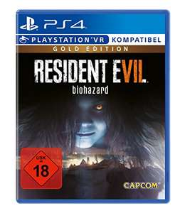 [amazon.de] Resident Evil 7 - Gold Edition (PS4) [Xbox One 44,38 €]