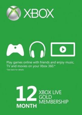 12 Monate Xbox Live Gold
