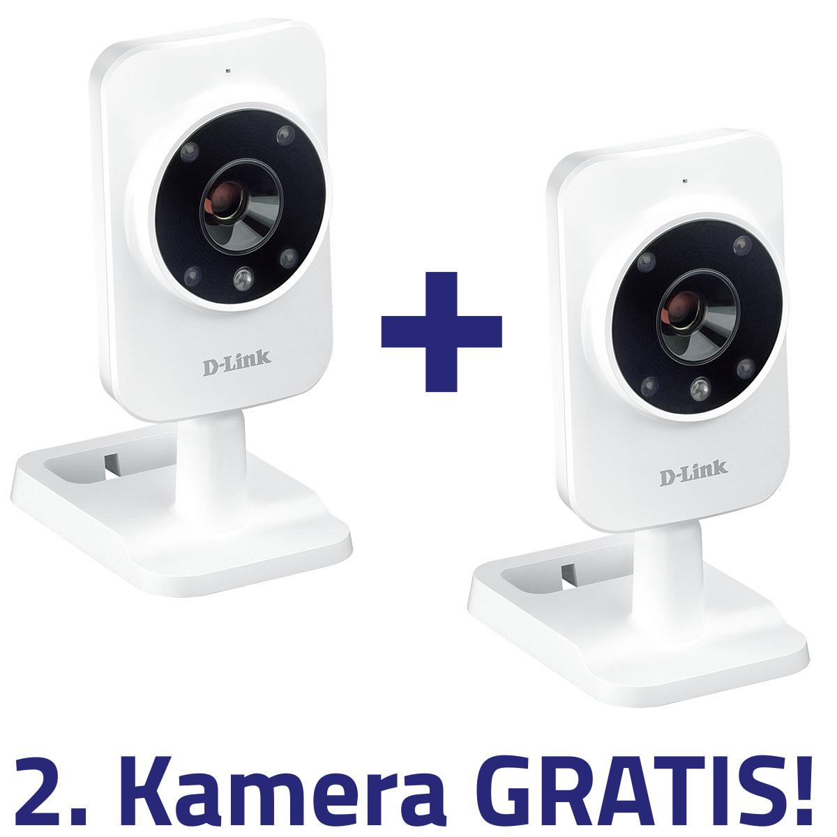 [OfficePartner] D-Link DCS-935L HD Sicherheitskamera im Doppelpack für 55€ (Logoix)
