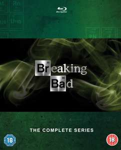 Breaking Bad - Die komplette Serie (Blu-Ray) für 32€
