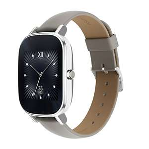 Amazon.de: Asus ZenWatch 2, silber/khaki um 88,60€