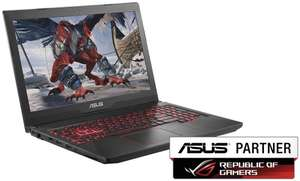 Asus FX503VD Notebook: 15,& FHD matt, Intel Core i5-7300HQ, 8GB RAM, 1TB SSHD (M.2 Slot frei), GeForce GTX 1050, Wlan ac + Gb LAN, Bel. Tastatur für 666€ (eBay)