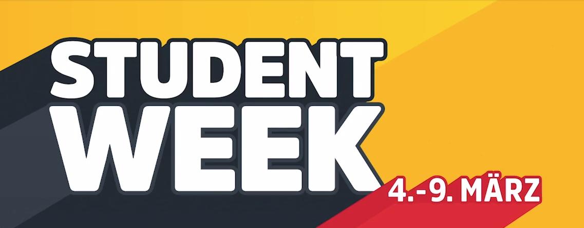 iamstudent Student Week vom 4. bis zum 9. März - u.a. mit Stiegl Goldbräu Kiste (20x) für 0,99€ inkl. Versand