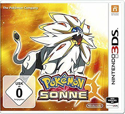 Pokemon Sonne (3DS) für 22,19 Euro