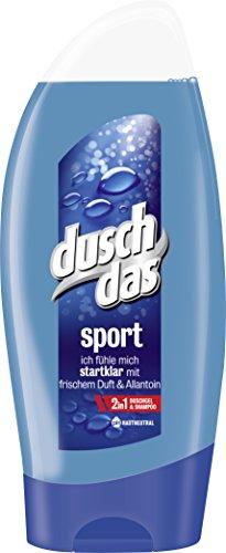 """6x Duschdas For Men Duschgel """"Sport"""" (36 Cent/Flasche)"""