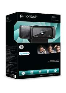 Logitech C920 HD Pro Webcam (mit USB und 1080p) [Amazon]
