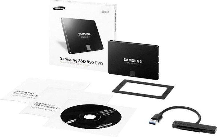 Amazon Samsung MZ-75E250RW 850 EVO interne SSD 250GB (6,4 cm (2,5 Zoll), SATA III) schwarz, Starter Kit
