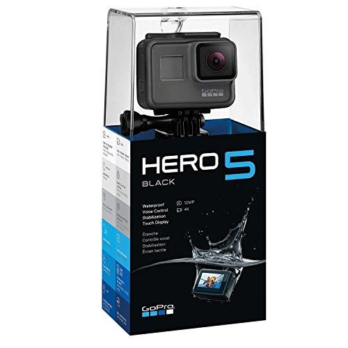 GoPro HERO5 Black Action Kamera (12 Megapixel) schwarz/grau - BESTPREIS