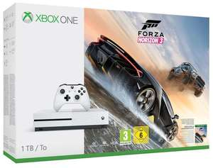 Xbox One S 1TB Konsole - Forza Horizon 3 Bundle + Steep + The Crew für 229€