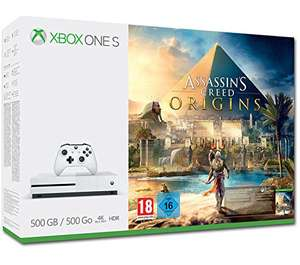 [AMAZON] Xbox One S 500GB Konsole - Assassin's Creed Origins Bundle