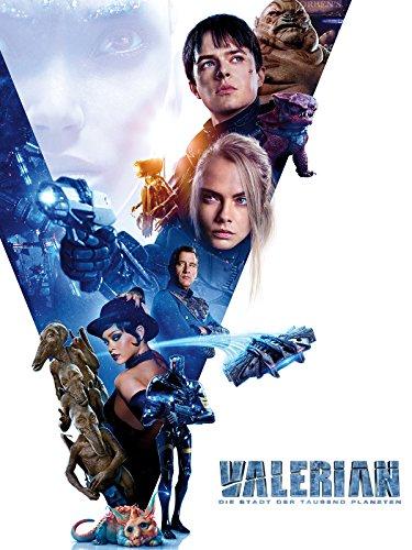 Valerian - Die Stadt der tausend Planeten (HD) ausleihen