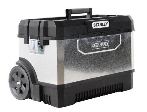Stanley Verzinkte Werkzeugtruhe (mit Rollen, 66 cm) [Amazon]