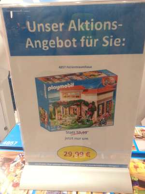 Playmobil Fun Store SCS Aktion: Ferientraumhaus (4857)