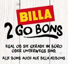 BILLA 2 Go Bons von 15.2. bis 14.3.