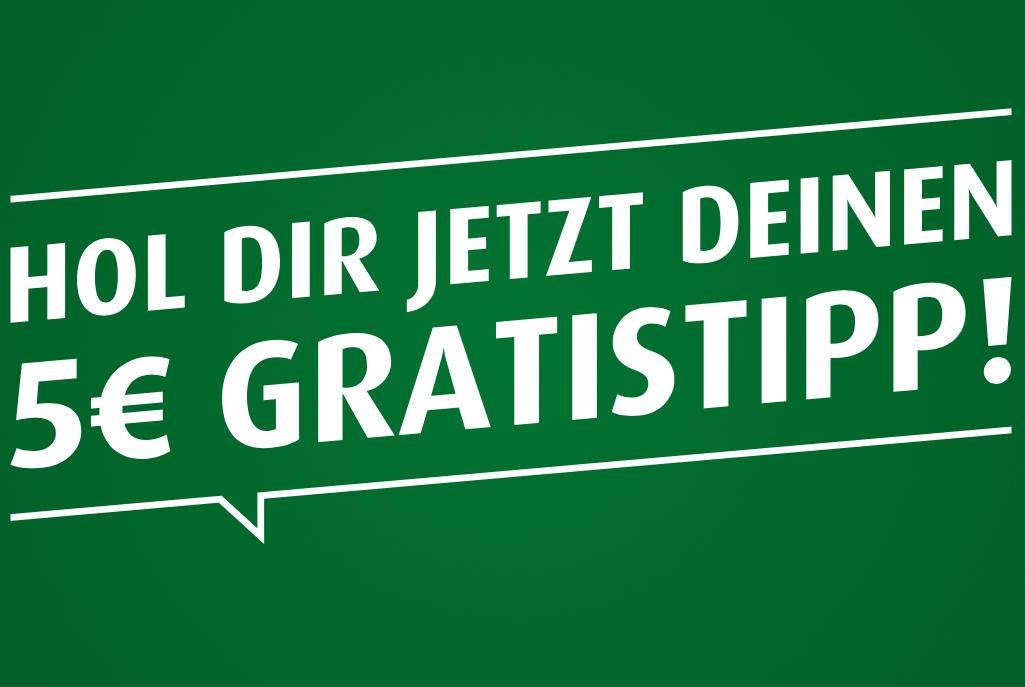 Tipp3 - GRATIS 5 € Wettguthaben - auch für Bestandskunden!