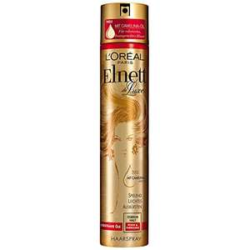 [www.AMAZON.de] Elnett de Luxe Haarspray Kostbare Öle Pflege & Farbglanz 6 Stück für je 9,70 entspricht € 1,60 pro Stück als Vorbestellung