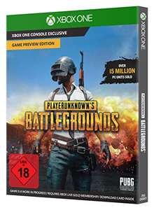 [amazon.de] PLAYERUNKNOWN'S BATTLEGROUNDS - Game Preview Edition [Code in The Box] - [Xbox One]