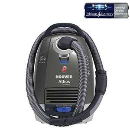 [www.AMAZON.de] Hoover Staubsauger atc18li Akku, 18 V, titan/blau für € 90,53