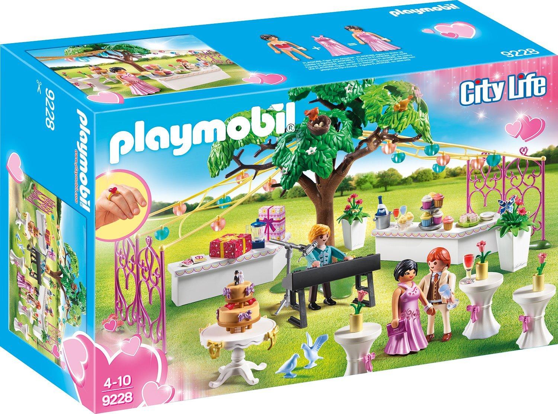[www.AMAZON.de] Playmobil City Life Hochzeitsparty 9228 für € 14,67 für Prime Kunden Kostenloser Versand