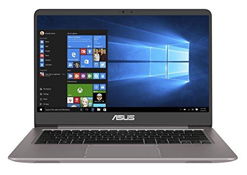 Asus Zenbook UX3410UA-GV628T 35,56 cm (14 Zoll mattes FHD) Notebook (Intel Core i5-7200U, 8GB RAM, 256GB SSD, 1TB HDD, Intel HD, Win 10 Home) grau um EUR719,-- statt EUR899,--