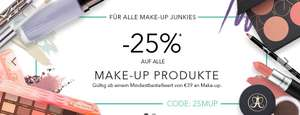 Douglas -25% auf Make-Up Produkte bis 21.2.