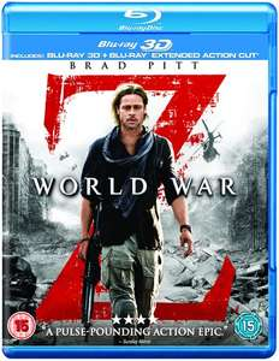 World War Z 3D+2D-Bluray (5,20€) & Terminator Genisys 3D+2D (6,20€)