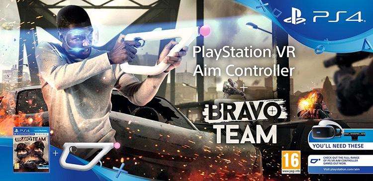 [amazon.uk] Vorbesteller von Bravo Team + Aim Controller Bundle (PSVR)