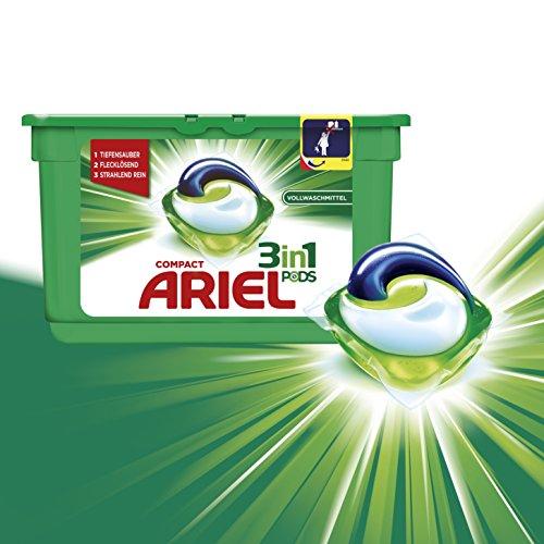 [Amazon Plus] Ariel 3in1 PODs Vollwaschmittel, Probiergröße (15 WL)