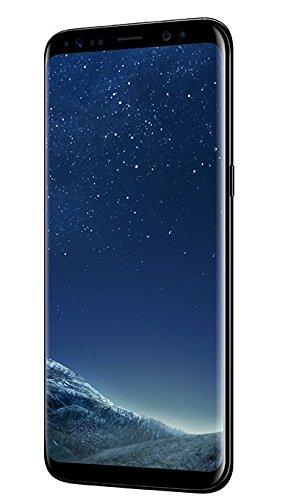 Amazon Samsung Galaxy S8 Smartphone (5,8 Zoll (14,7 cm) Touch-Display, 64GB interner Speicher, Android OS) midnight black zum BESTPREIS