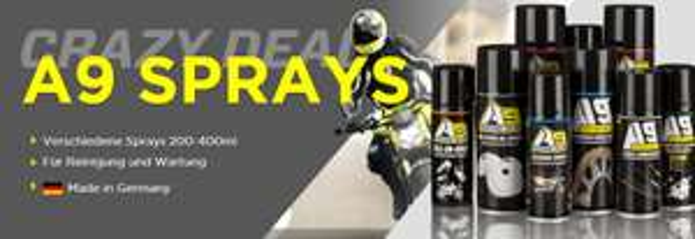 [XLmoto] Diverse A9 Sprays ab 1,99€ (Kettenspray, Bremsen etc..)
