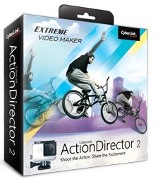 CyberLink ActionDirector 2 oder 3 gratis