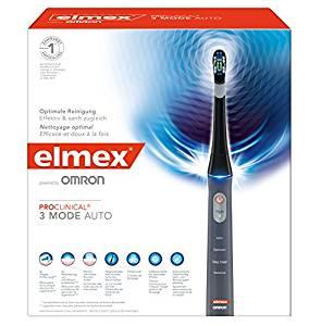Amazon Vorbestellung - elmex ProClinical 3 Mode Auto elektrische Zahnbürste 1 Stück 66,56 Euro