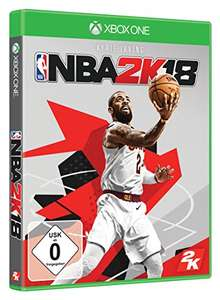 [amazon.de] NBA 2K18 - Standard Edition (Xbox One) 25,24 € [Prime exklusive] / (PS4) 30,24 €