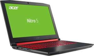 Notebooksbilliger Acer Nitro 5 AN515-51-577E Gaming Intel Core i5-7300HQ 8GB DDR4 1000GB HDD +256GB SSD M.2 PCIe GTX 1050Ti (NH.Q2QEV.005)